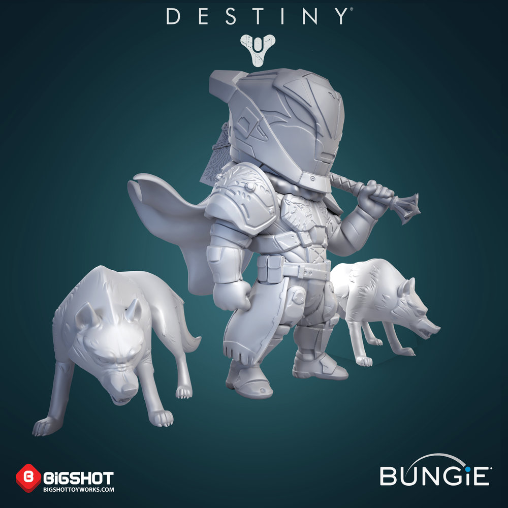 Bungie Destiny Saladin and Wolves sculpt.jpg