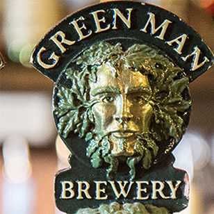 Tap for Green Man Brewery
