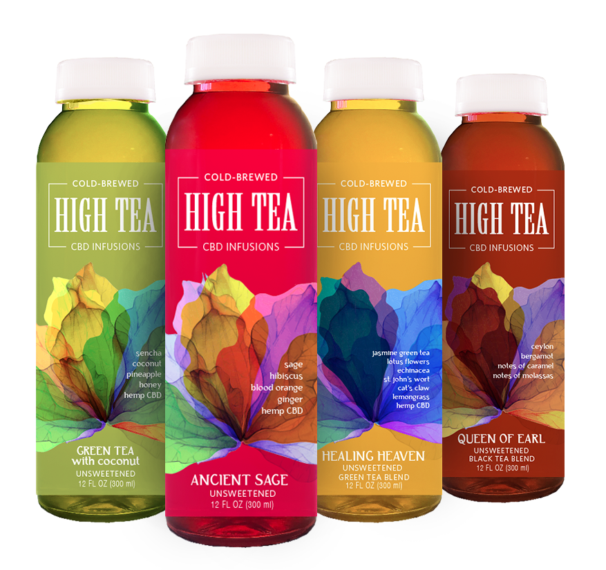"The first Cold Brewed Blended Gourmet Tea's with Organic phyto cannabinoid Infusion. ""Allow High Tea to elevate your spirit""-Miriam Novalle, Founder -"