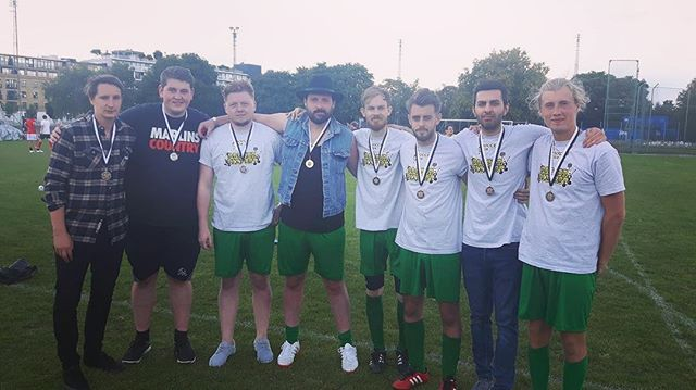 Some solid performances from the lads out there at  @soccersixofficial today! Shame we couldn't pull it together in the final but runners up ain't too bad I suppose... until next year! #soreloser #nosubstituteforwinning
