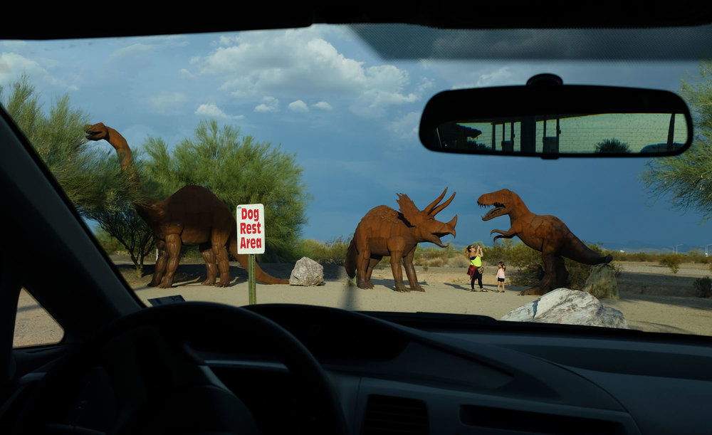 Dino Park in Gila Bend Arizona