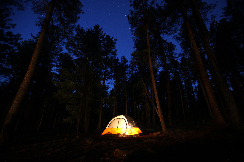 Dusk and Tent