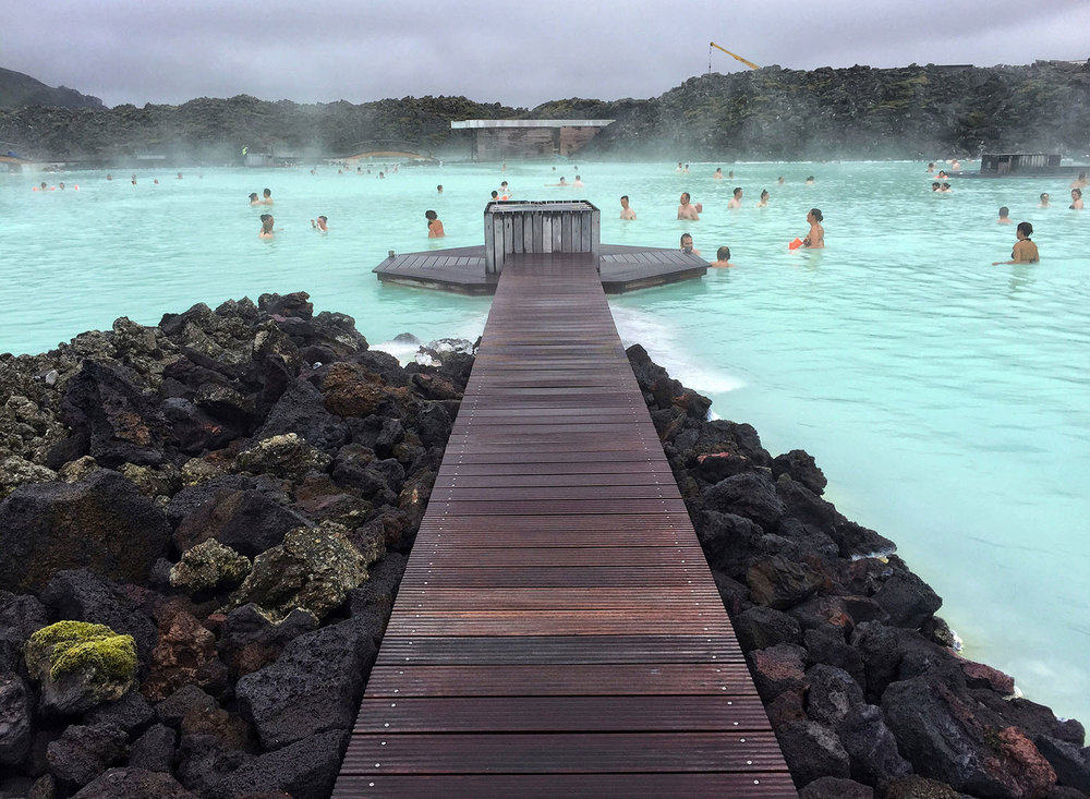The Blue Lagoon: - The world's most famous spa.l
