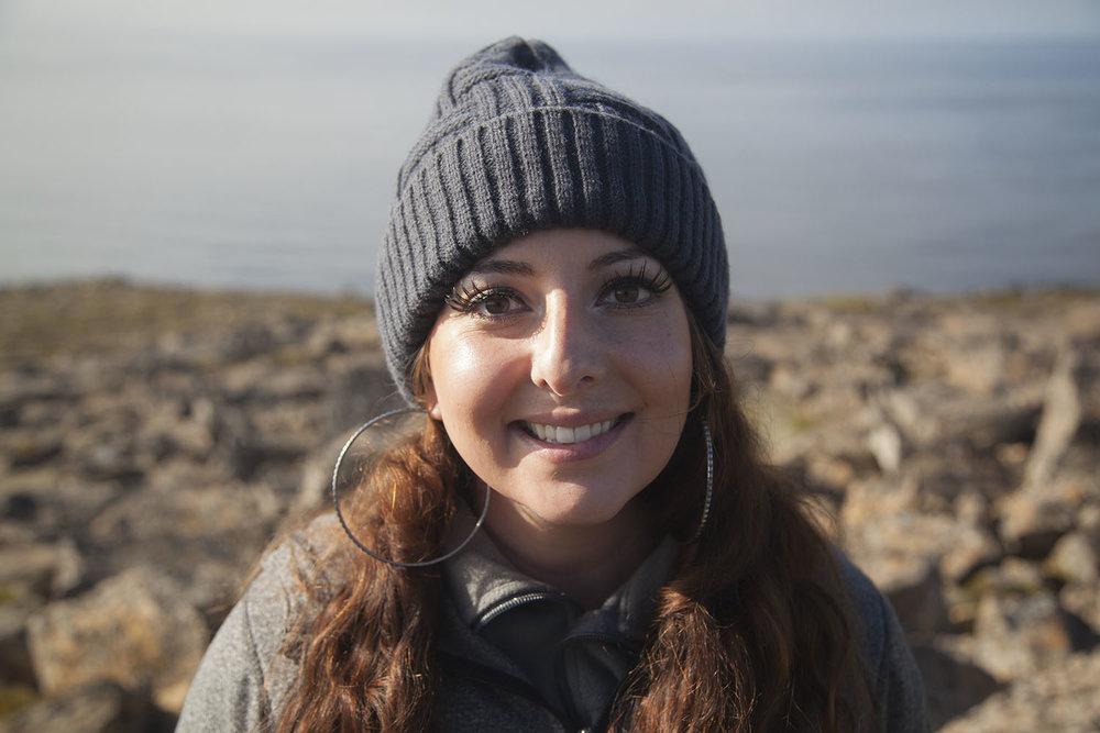 Travel Blogger Melissa Ann Marie Farley in Iceland