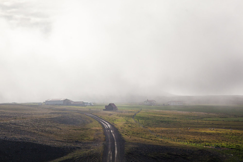 Iceland Country Road