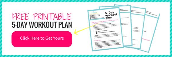 Free Printable 5 Day Workout Plan