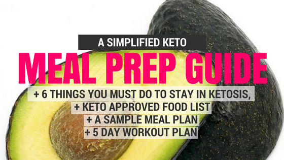 Keto Meal Prep Guide