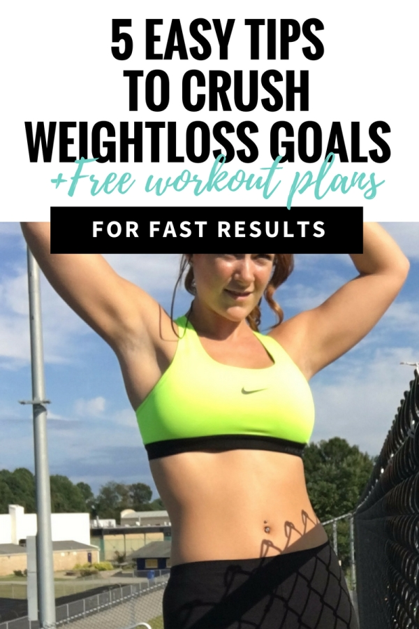 4 Steps to Achieving your weight loss goals with megan seelinger fitness