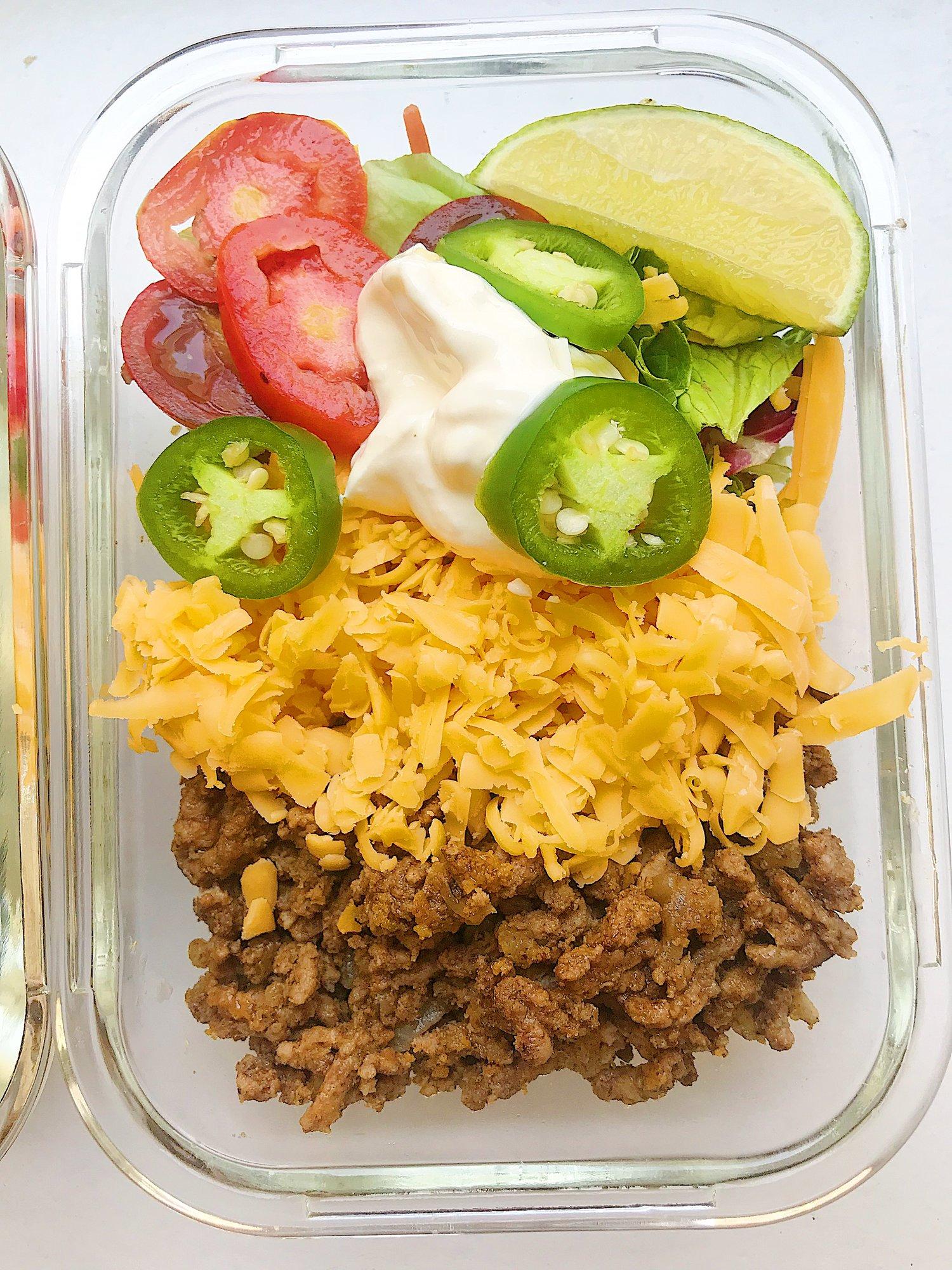 Keto Taco Salad - Easy Keto Ground Beef Recipe  — Megan Seelinger Coaching