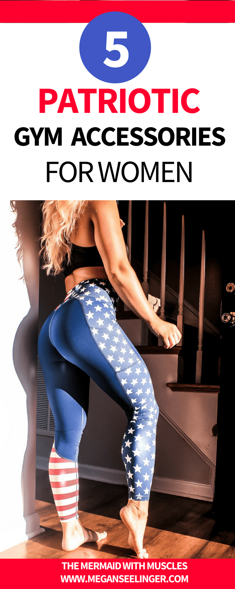 patriotic gym gear for women
