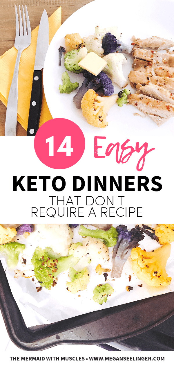 easy keto recipes that don't require a recipe