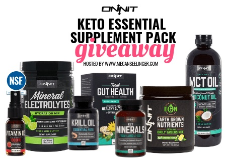 Onit Keto Essentials Supplement Pack Giveaway
