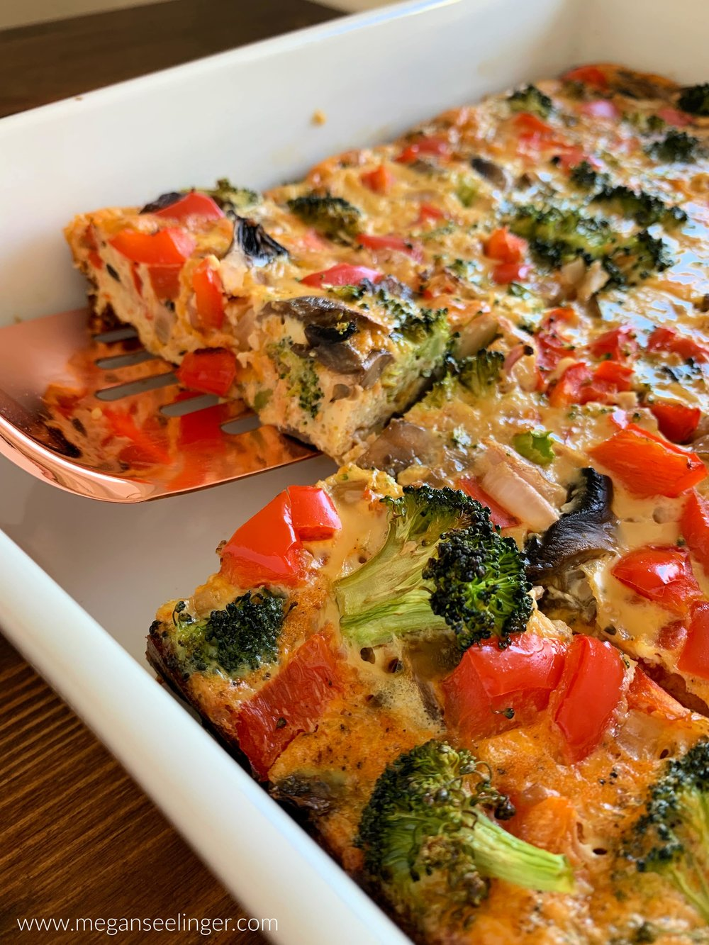 Low Carb Veggie-Packed Breakfast Casserole