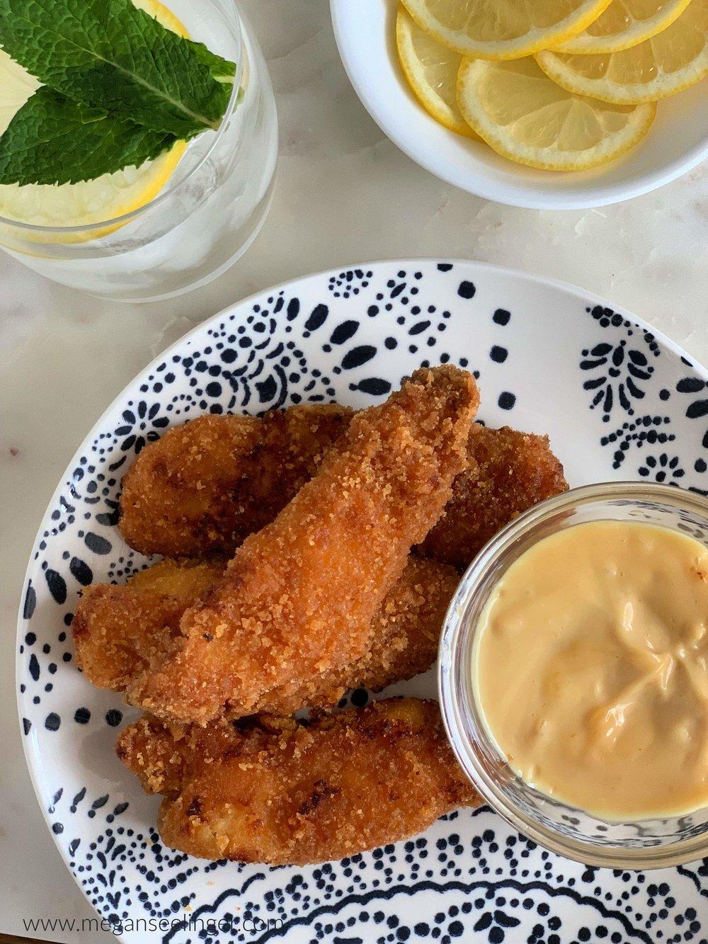 Keto Fried Chicken Tenders