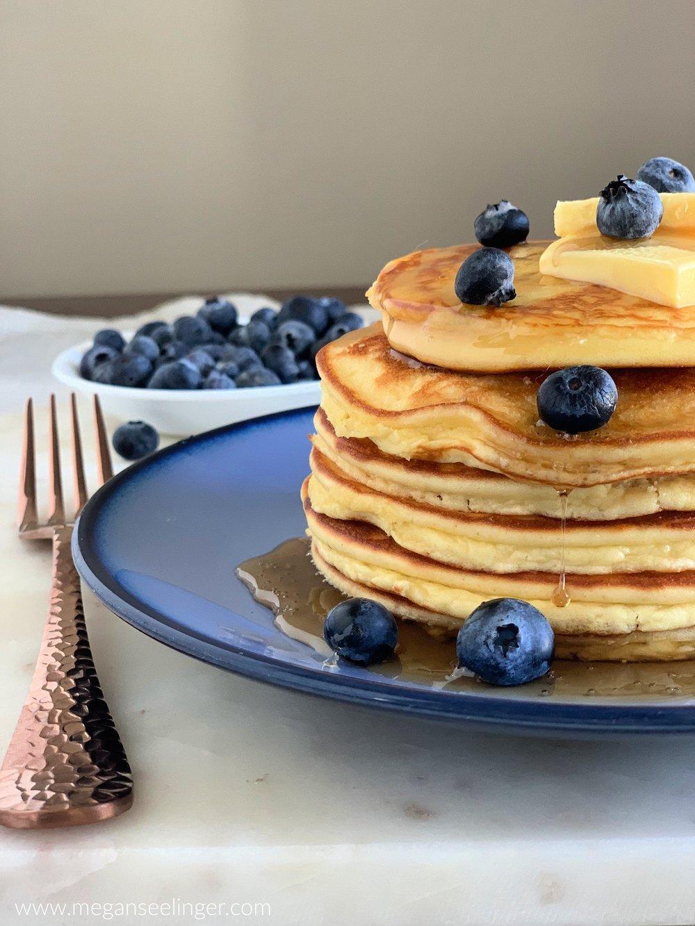 Keto Coconut Flour Pancakes 1