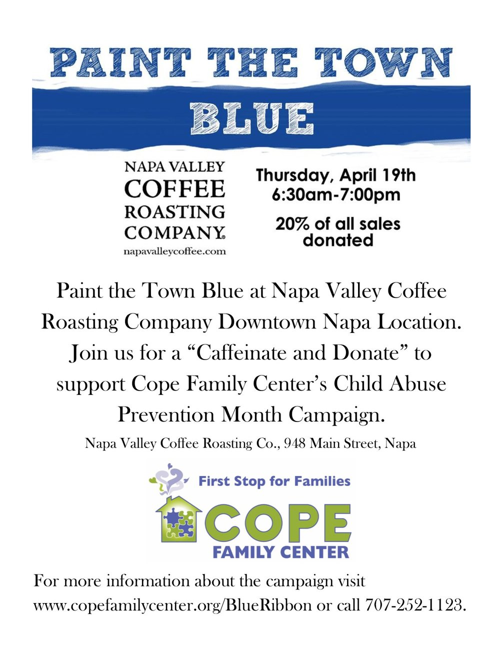 Cope Family Center Child Abuse Prevention