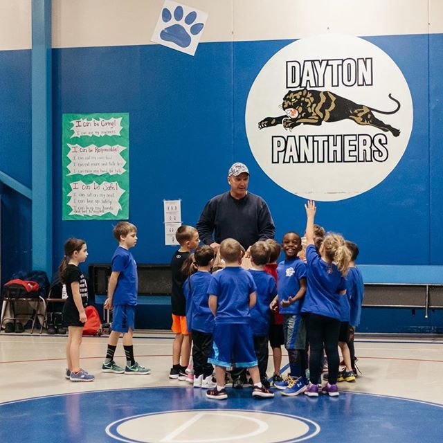 And that's a wrap on basketball for the season. 🏀 The kids all had an amazing time with many thanks to an amazing coach and I didn't even forget one practice. #smallvictories #winning