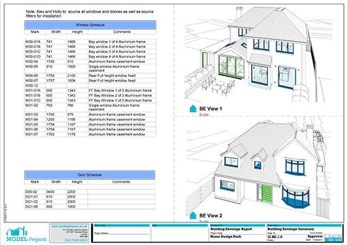 example building envlope 2