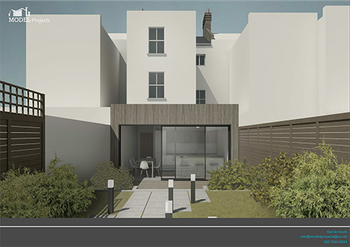 rear extension (lower flat), stretham, south london