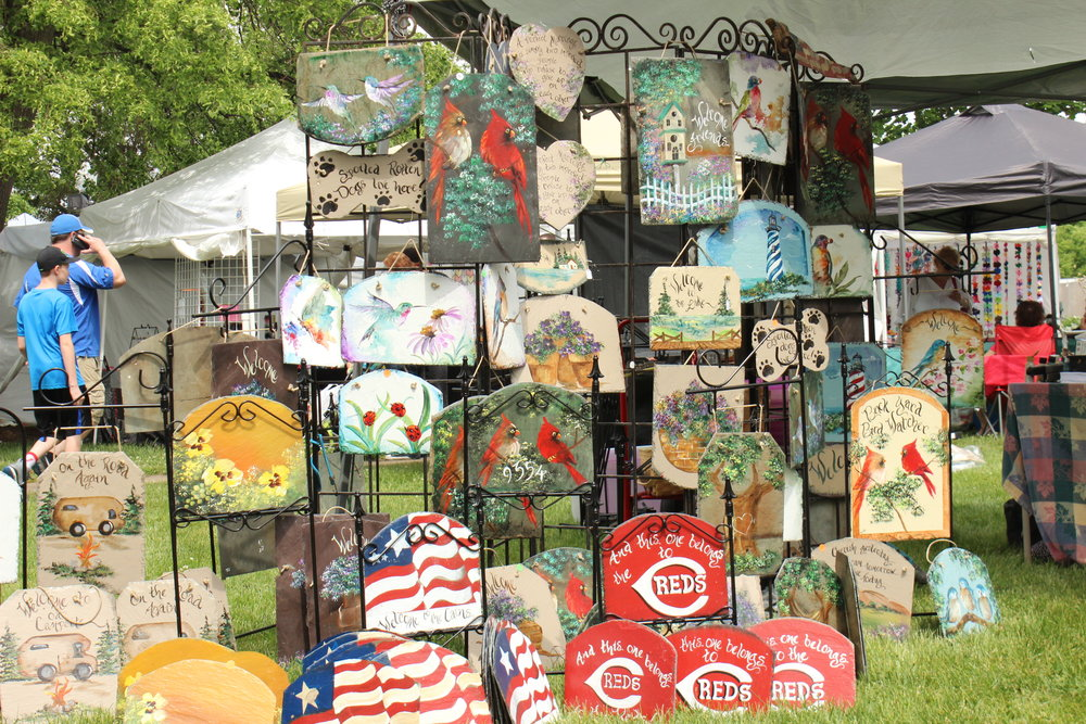 100 Booth Spaces are Available for Arts and Craft Vendors