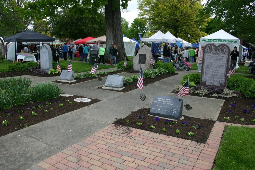 Spring Fling in Partnership with the City of Miamisburg is Proud of the Veteran's Memorial