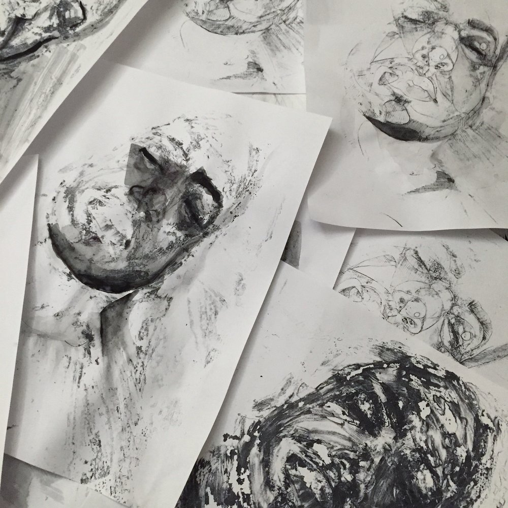 Inked   Process \ Paint    ON DISPLAY
