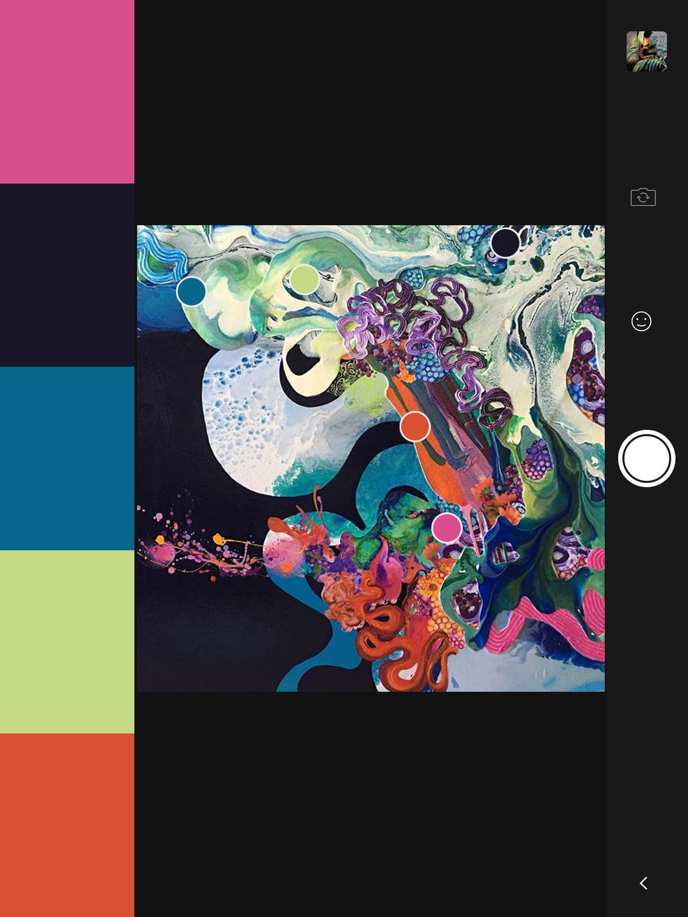 Mixed media on canvas   @artistkimberberry