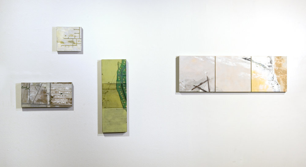 DRY EARTH drawings, Installation view