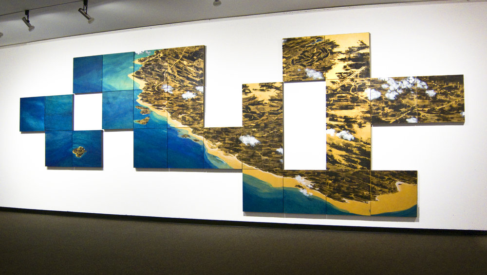 COAST, 8 ft. x 24 ft., 26 panels