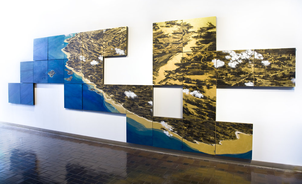 COAST, 8 ft. x 24 ft., 27 panels
