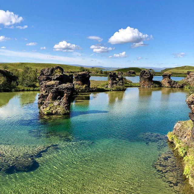 Stutt að keyra hingað. Only a short drive away. Photo @jfalknerco #mývatn #hiking #útivera #norðurland #gamlaapótekið #placetoread #bestplacetostay #summer2018