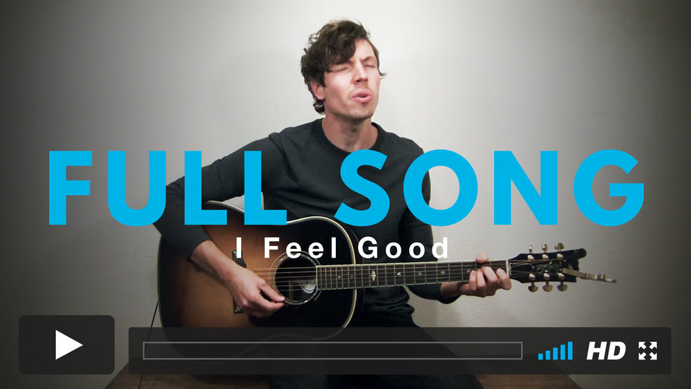 Play along with Jairus to the full version of I Feel Good