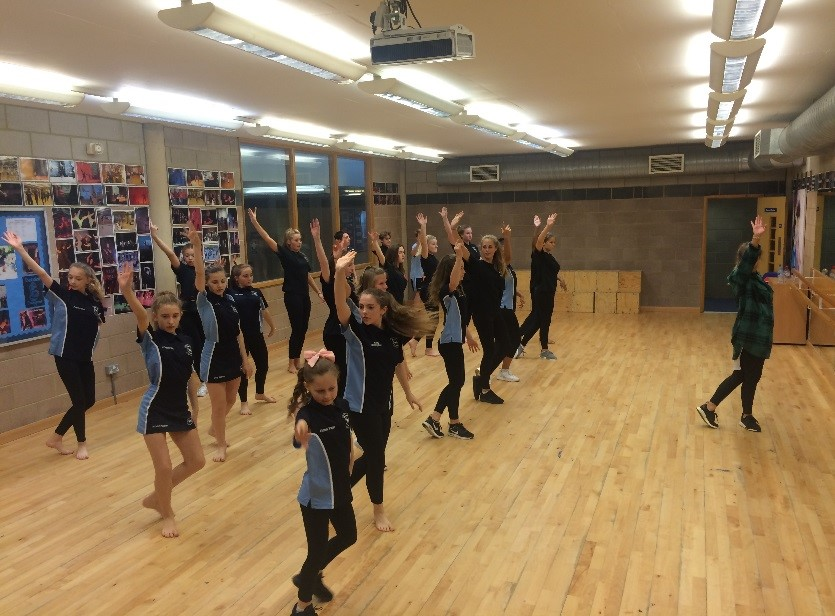- This term the dance team offered a one off dance workshop to which we were delighted to invite selected year 9 students, our year 12 dance students and the Debden Youth Dance Company. The workshop was led by a professional dancer, Jordan Palmer, who is currently performing in Thriller in the West End.