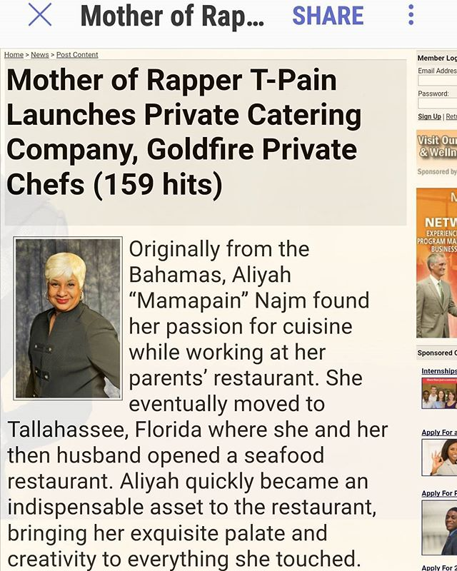 New article posted about the launch of Goldfire Private Chefs To read more click the link in the bio. @taroue