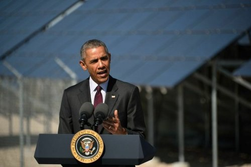 Obama Promotes Solar Power as Economic Fuel