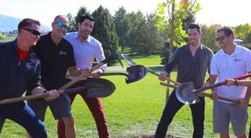 HGTV's Property Brothers Join Auric Solar and TreeUtah for Tree Planting