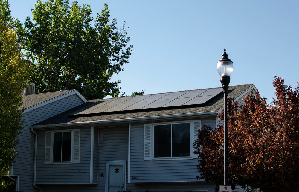 14 panels installed 4kW generated per month  $54.26 saved per month