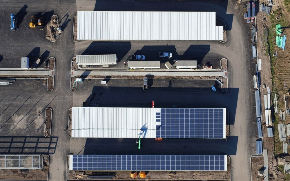 Conservice   2255 panels installed 699kW generated per month  $6000 saved per month
