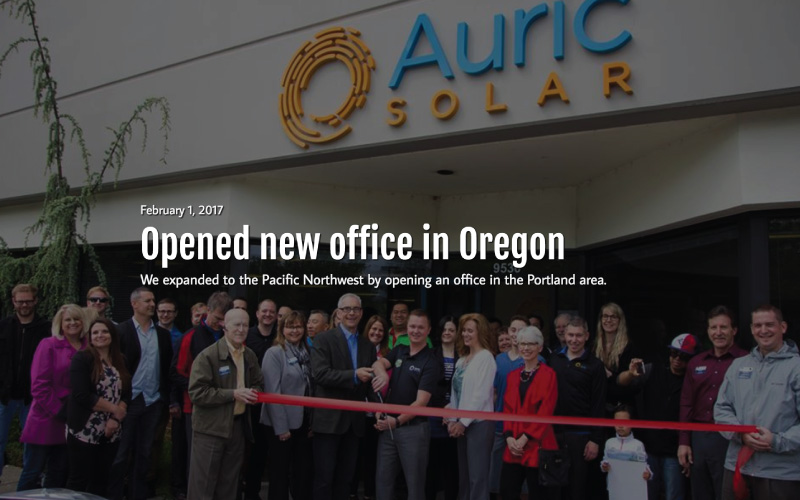 Auric-Solar-Oregon