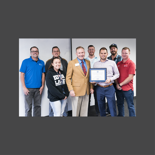 Auric Solar Receives Award from the Employer Support of the Guard and Reserve