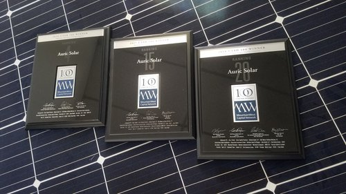 Auric Solar in the Top 100 Fastest-Growing Companies in Utah