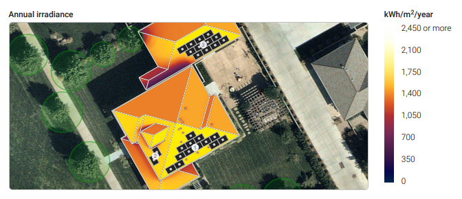 Get a free quote  for your very own custom roof analysis like this one!