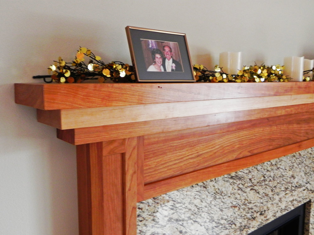 Cherry and Maple Mantle