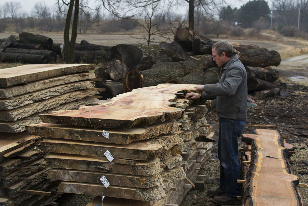how to buy a live edge slab - wisconsin live edge slabs