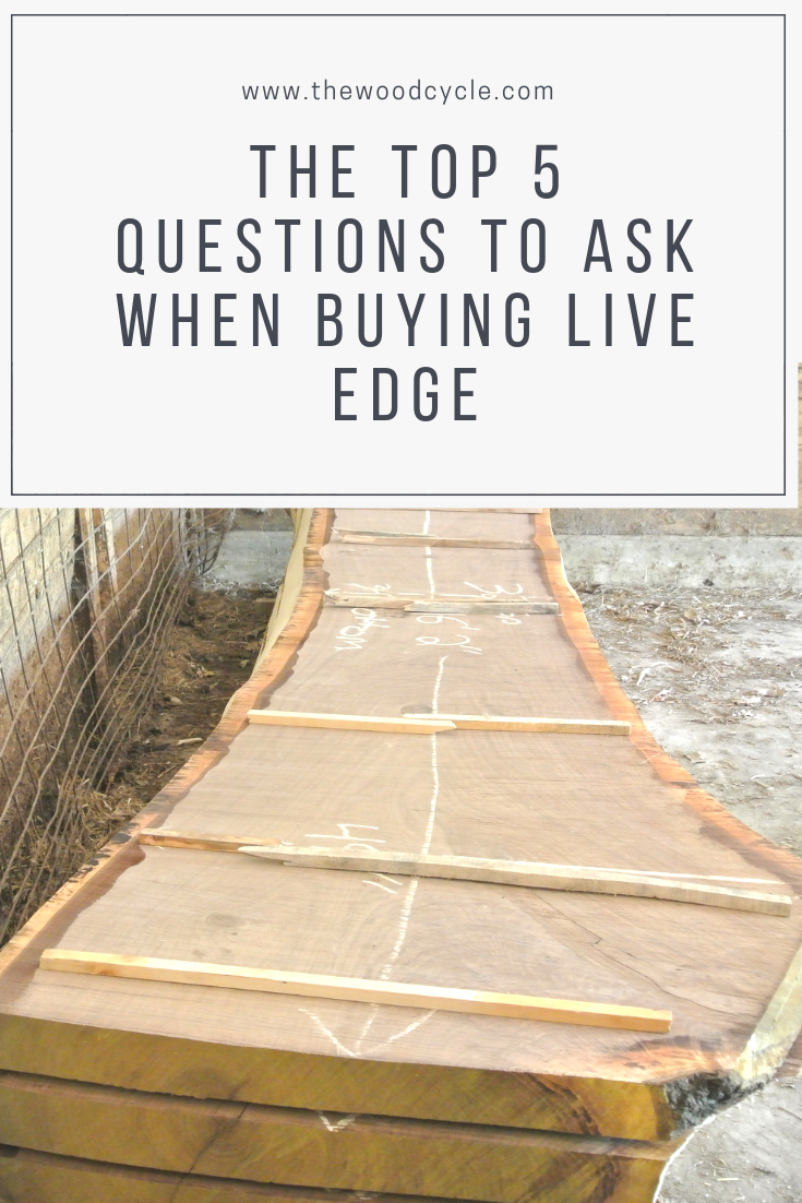 buying live edge slabs - the top 5 questions to ask before you buy live edge