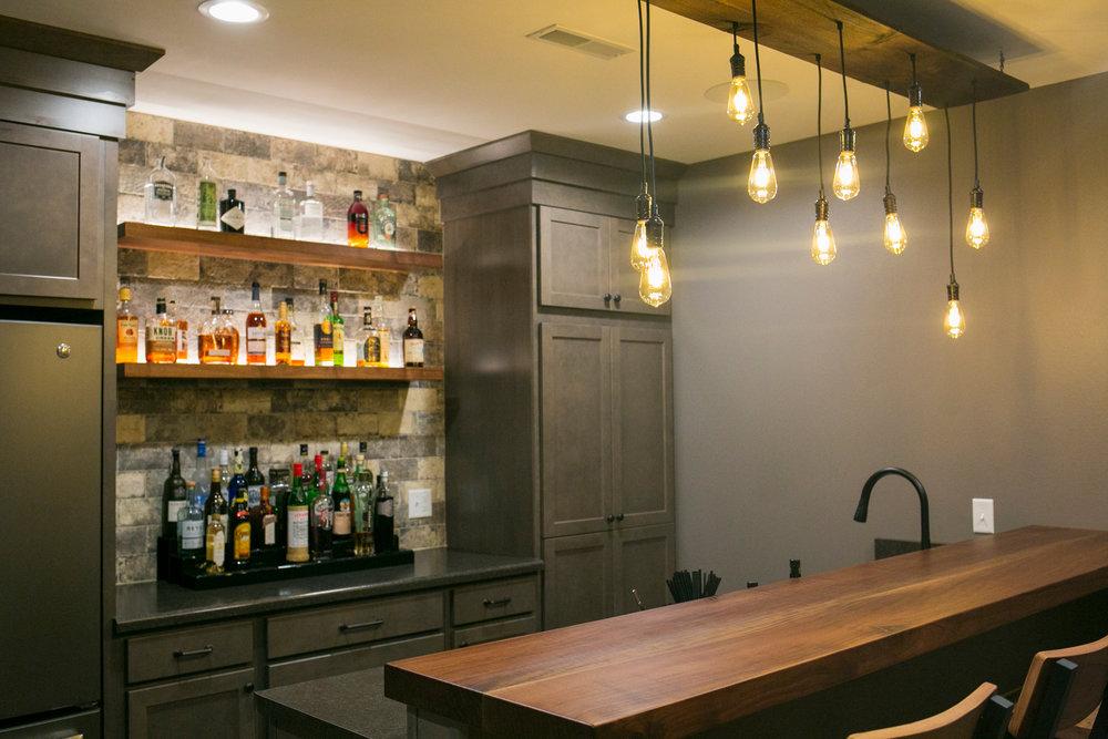 Custom Bars and Countertops -