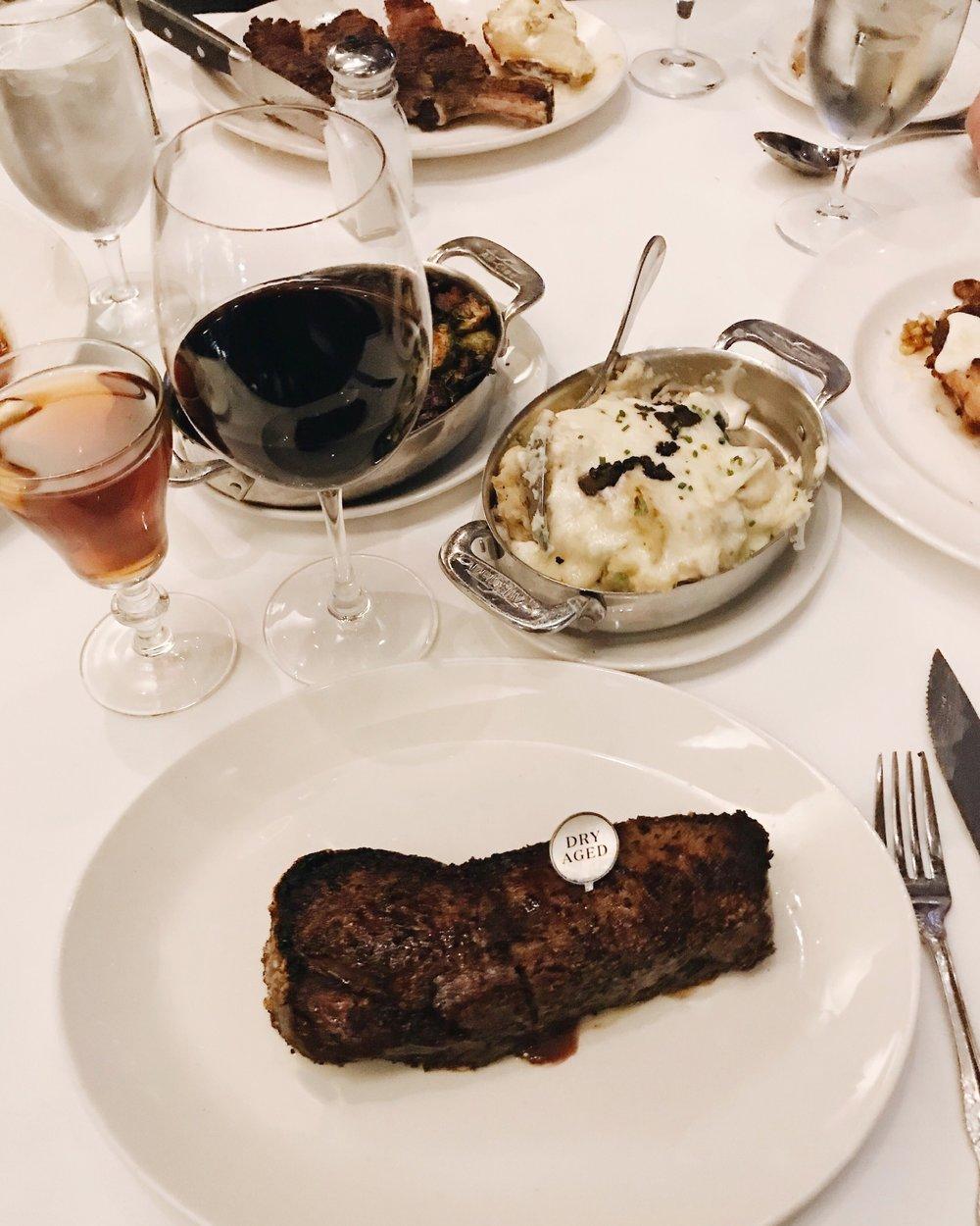 Del Frisco's Double Eagle Steak House / # DelsDryAged / Content Creation