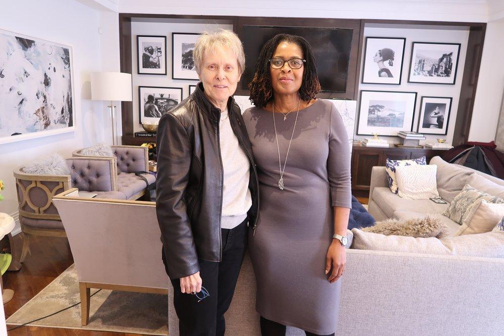 Paulette with Dr. Roberta Bondar