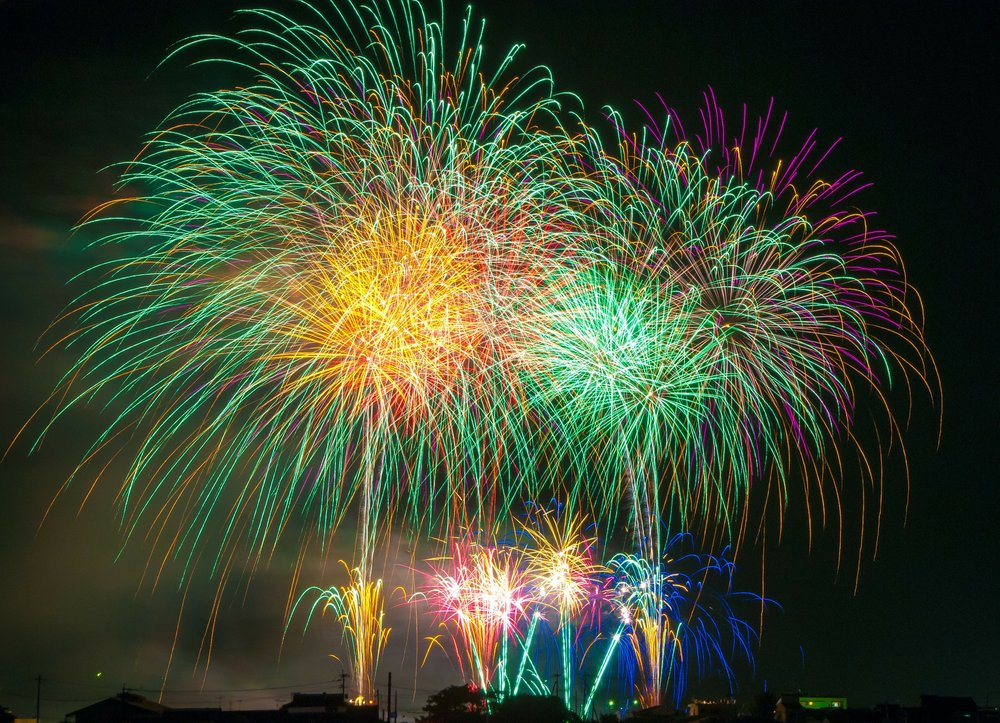 The fireworks go off, the resolutions are written and then the resolutions are promptly ignored.