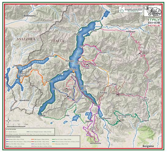Ciclismo di Lago di Como